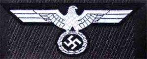 German ww2 Panzer breast eagle.