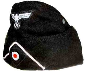 Heer Panzer side cap with insignia