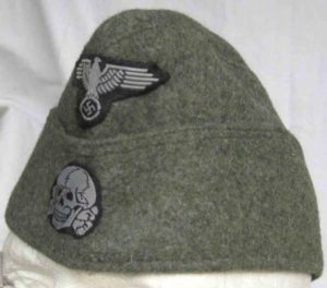 Waffen SS Enlisted mans side cap