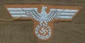 Afrika Korps cap eagle