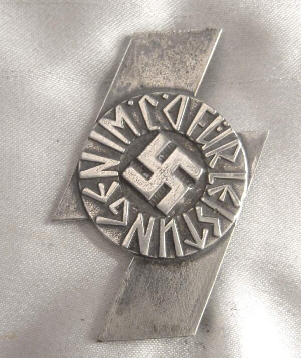 DJ Proficiency badge -Leistungs-silver-badge