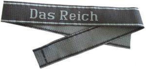SS Das Reich BeVo cuff title
