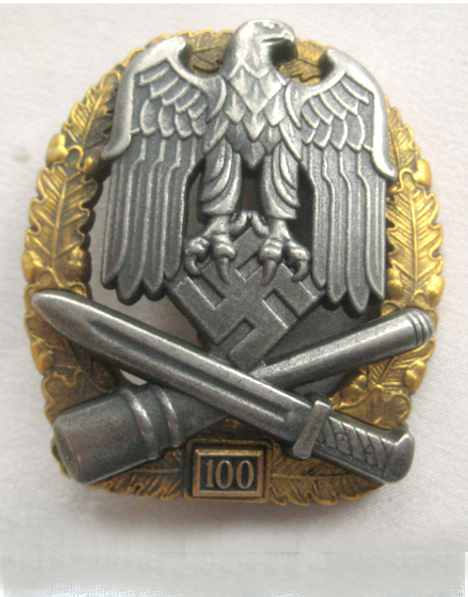 General-assault-badge-75