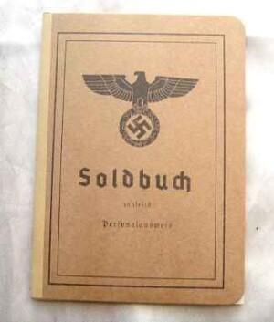 German Army Heer Soldbuch