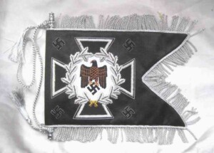 German army swallow tailed flag- Pioneer