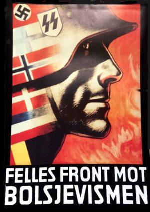 Felles Front Mot Bolsjevismen poster