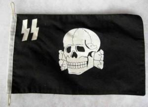 SS totenkopf banner