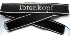 SS Totenkopf cuff title enlisted man