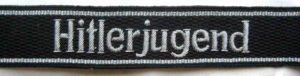 SS Hitlerjugend cuff title. Officers