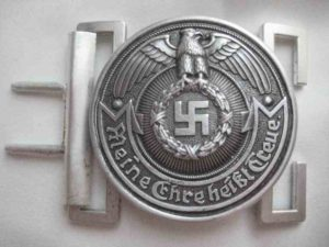 SS officers belt buckle superior quality.