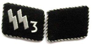 SS-VT Der Fuhrer collar tabs