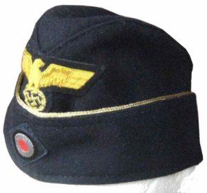 Kriegsmarine officers side cap-EREL