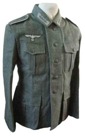 Heer M40 Field Tunic with insignia