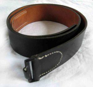 German Army Leather belt