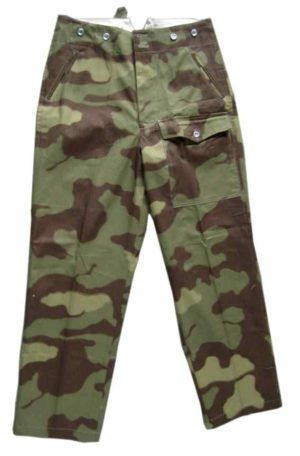 Italian camo field trousers