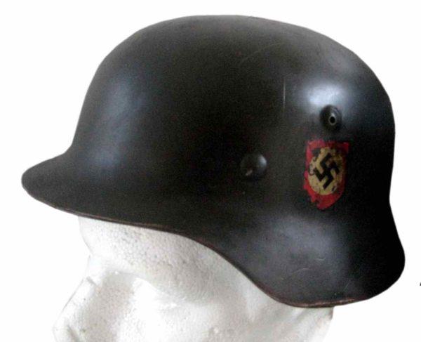 SS M40 German Steel Helmet-double decal