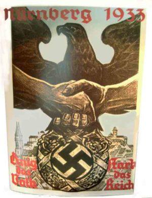 Nurnberg 1933 poster.