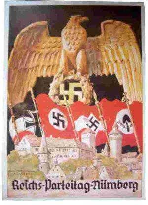 Reichs Partei Tag Nurnburg poster