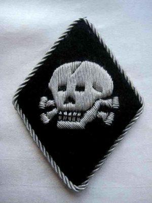 SS Totenkopfverbande Officers Sleeve Diamond