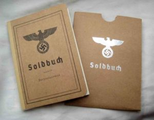 Heer Soldbuch and cover set