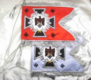 German army swallow tailed flags