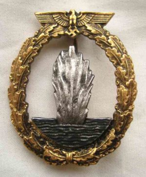 Kriegsmarine Minesweepers badge.