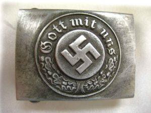 Nazi Police Belt Buckle