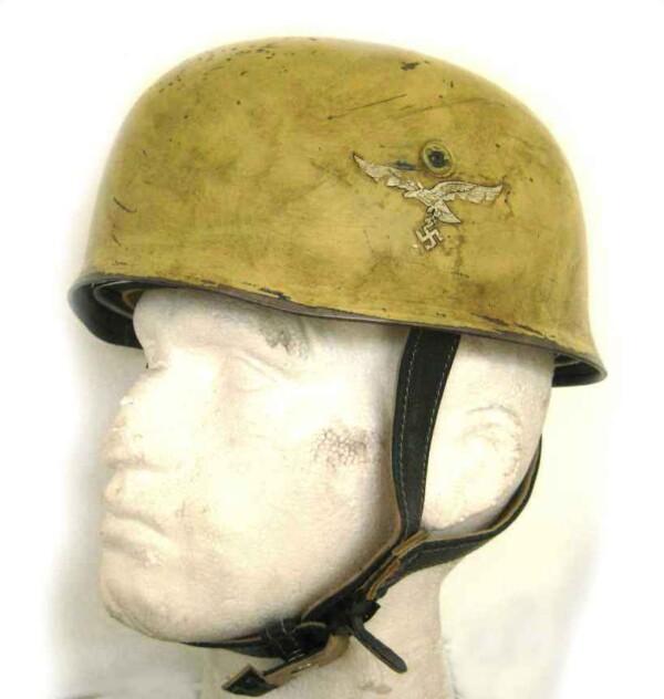 WW2 German Fallschirmjager Tropical Helmet
