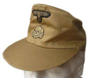 M43 SS Tropical cap with insignia