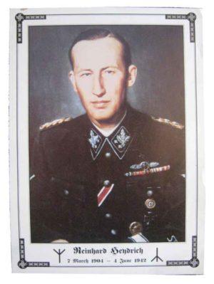 Reinhard Heydrich Memorial Poster