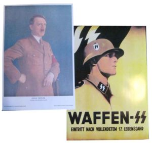 Fuhrer and Waffen SS Poster set
