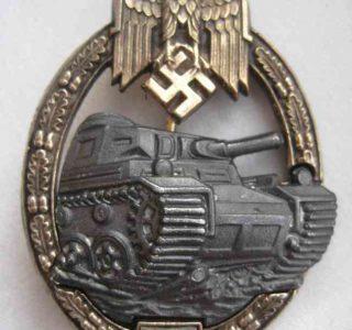 Panzer Assault Badge 25 Bronze `Sonnderklasse`