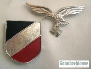 luftwaffe pith helmet shields