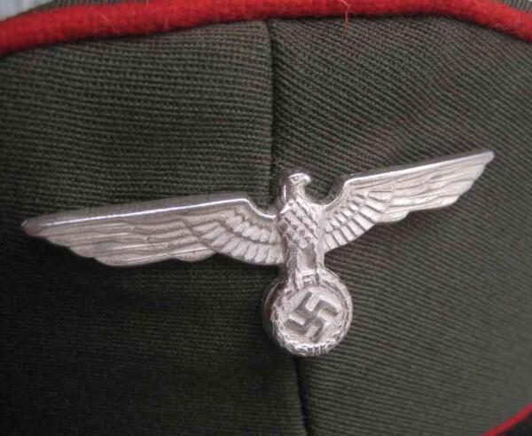 heer visor cap eagle