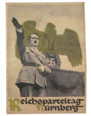 Adolf Hitler vintage style poster style poster