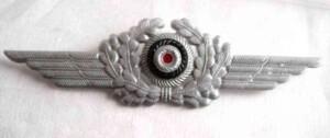 luftwaffe metal wreath