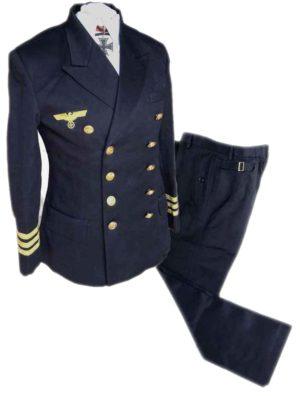 German Kriegsmarine officers uniform.WW2 naval uniform german army