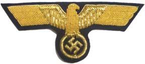Kriegsmarine officers breast eagle