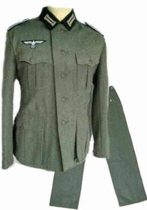 Heer M36 uniform set with insignia