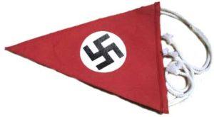 Nazi party vehicle pennant