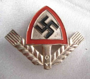 German Rad cap badge
