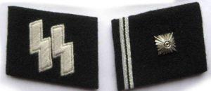 SS Scharfuhrer collar tabs
