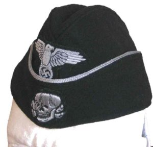 SS Panzer officers side cap- EREL