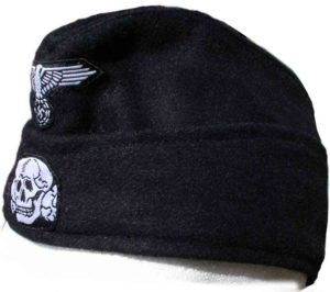 SS Panzer side cap with insignia