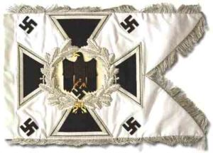 German army standarten swallow tailed flags