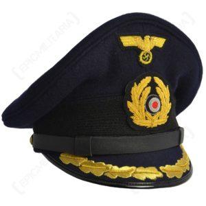 Kriegsmarine officers visor cap