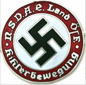 austrian nazi party badge