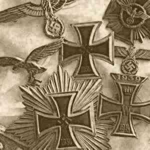 German Badges, Medals, Awards, Boxes