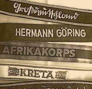 WW2 German army Cuff titles