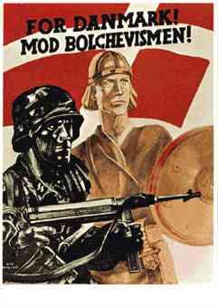 SS Danmark recruitment poster